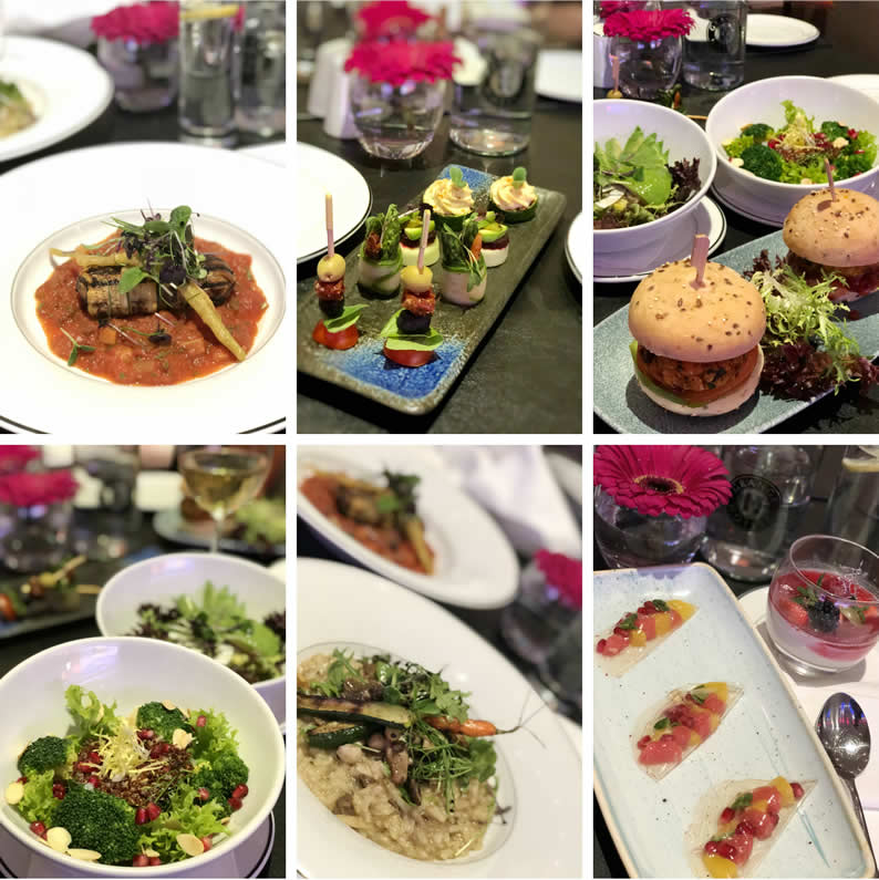 Here is a sample of the vegan dishes we serve at Grange Hotels: